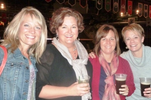 Bruce Springsteen, girls' night out, November 2012