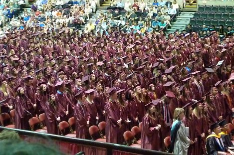 UW-L graduation