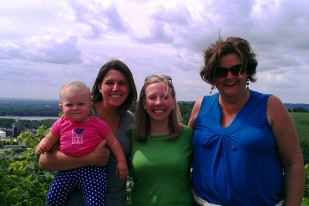At the Scenic Overlook