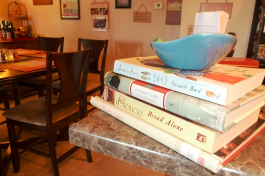 Books with recipes in them!