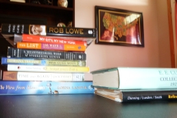 Some of my favorite authors and books I'm currently reading!