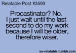 procrastinator 1