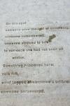 Gotta love words in cement!