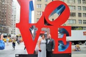 LOVE Sculpture!
