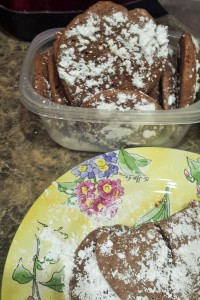 Brownie Cookies - delicious!  An internet recipe