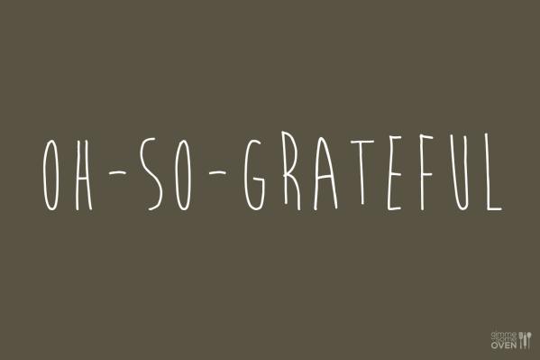 Oh-So-Grateful