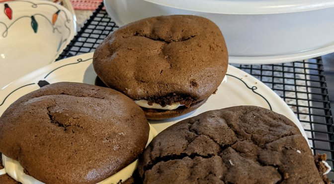 Whoopee (or is it Whoopie) pies – 2020